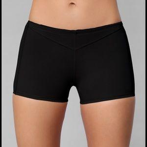 Black Butt Lifter Boy Shorts